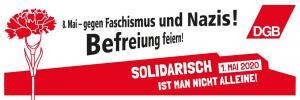 2020-04-21 DGB-Banner Soli kurz Nelke Befreiung